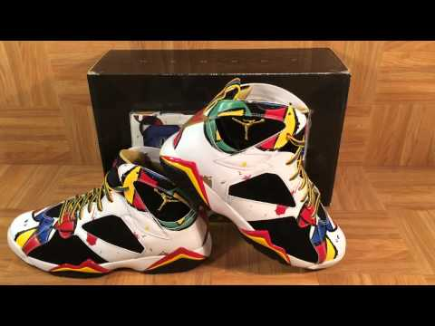 ShoeZeum Joan Miro Nike Air Jordan 7 Dream Team Olympics