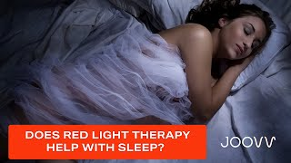 Sleep Better with Red Light Therapy