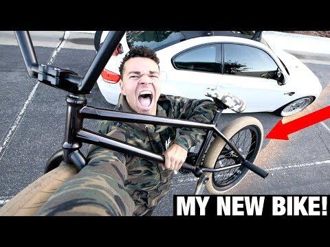 I GOT A BRAND NEW CAMO BMX BIKE!