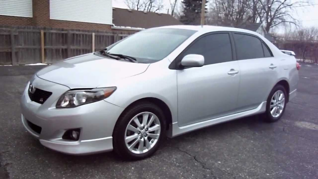 Wonderful 2009 Toyota Corolla S With 52,298 Miles   YouTube
