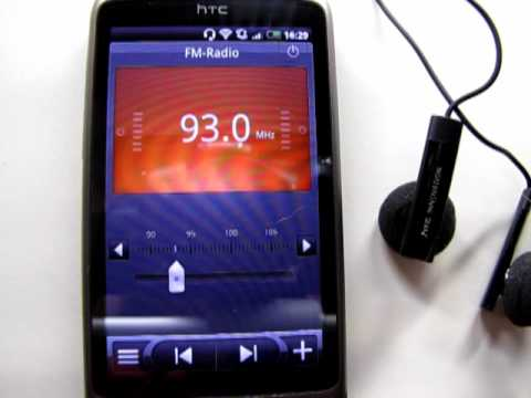 HTC Desire - FM-Radio