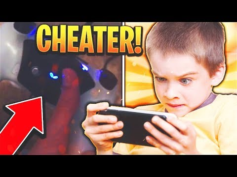 KID CALLS ME A CHEATER...but ends up EXPOSING HIMSELF! (HE HAS A MODDED CONTROLLER)