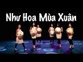 như hoa mùa xuân   traditional vietnamese dance