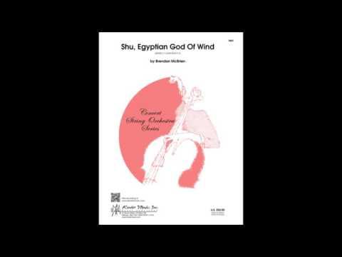 Shu, Egyptian God Of Wind by Brendan McBrien