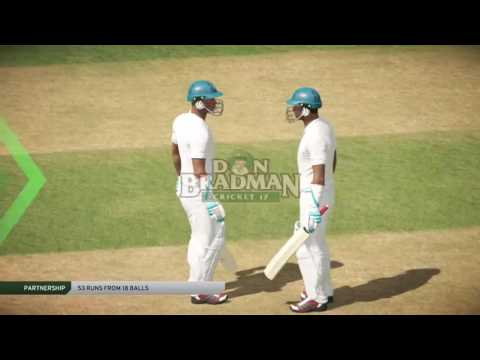 India vs Australia ...Test.. Live. Full Match..  Don Bradman Cricket 2017... ps4 cricket