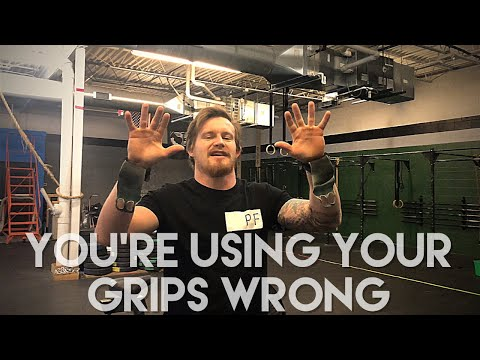 You're Wearing Your Gymnastics Grips Wrong!