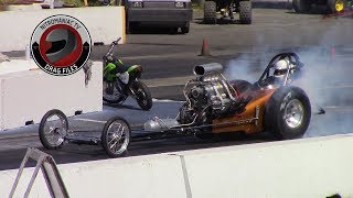 2016 Langley Loafers Old Time Drags Part 11 (Nostalgia Dragster Semi Finals and Brackets)
