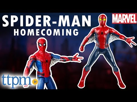 Marvel Spider-Man Homecoming Eye FX Electronic Spider-Man from Hasbro