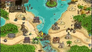 Kingdom Rush Frontiers - Port Tortuga - Campaign - Veteran Mode - Three Stars