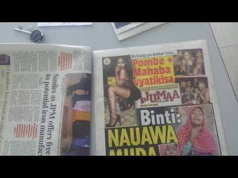 Tanzania news Paper