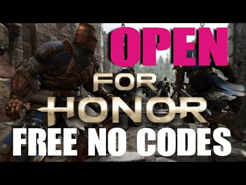 For Honor Open Beta FREE NO CODES PS4 PC Xbox One 1
