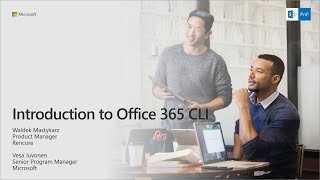 PnP Webcast - Introduction to Office 365 CLI thumbnail