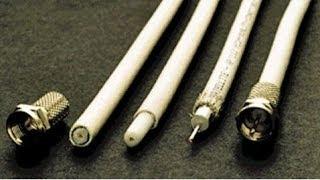 подготовка антенного кабеля для тв или спутника