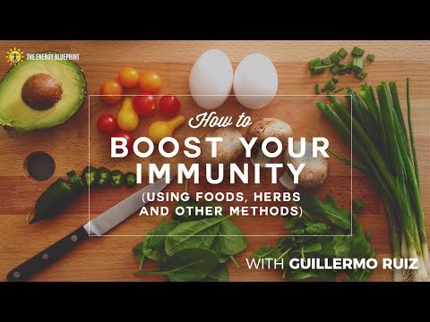How to Boost Your Immunity (using foods, herbs and other methods) with Guillermo Ruiz