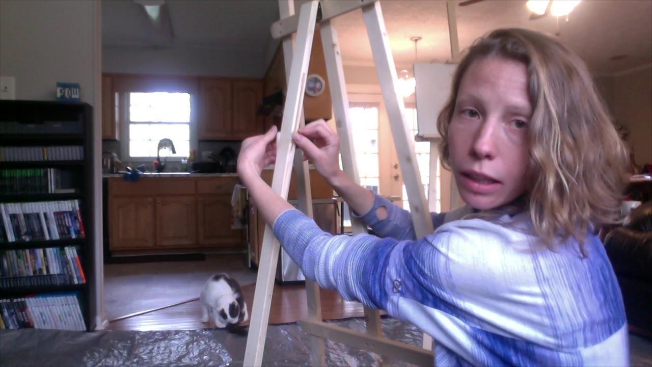 Tutorial How To Assemble Artist S Loft Wooden Artist Easel From Michael S Bonus Bundle