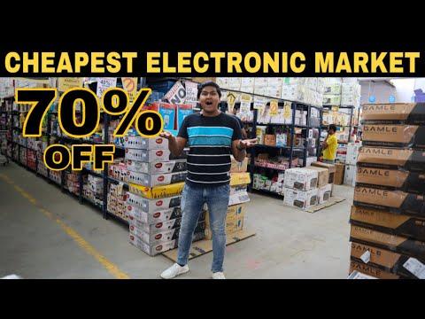 Cheapest Electronic & Clothes Market In Delhi | [wholesale/retail]| Led Tv | Delhi | Prateek Kumar
