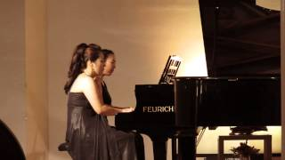 Dvorak - Slawischer Tanz e moll, Op 72, Nr 2 für Klavier zu 4 Händen