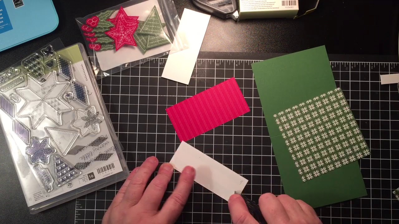 Stampin Up Christmas Quilt Holiday 2017 Youtube