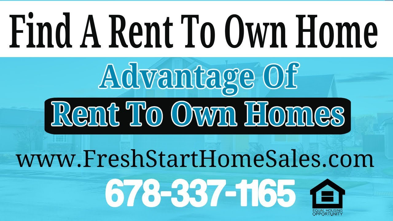 The Advantage of Rent To Own Homes ⭐⭐⭐⭐⭐