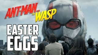Ant-Man & The Wasp Trailer Easter Eggs and Breakdown