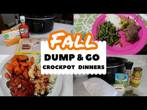 DUMP & GO CROCKPOT RECIPES | FALL 2020 EASY FAMILY DINNERS ON A BUDGET | FRUGAL FIT MOM