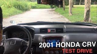 2001 Honda CR-V Short Test Drive