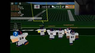 SMH Im Wide QB| Legendary Football| ROBLOX