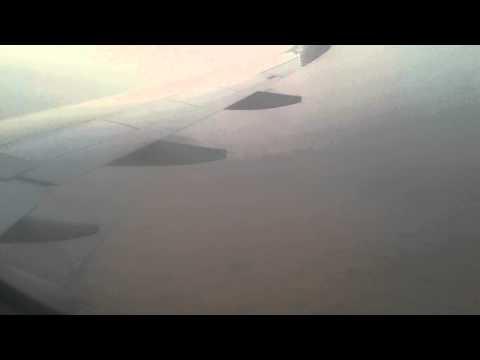 Landing to Sharjah International Airport