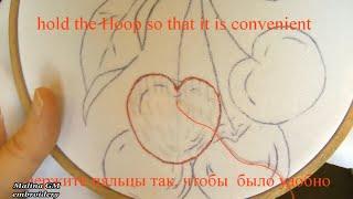 EMBROIDERY:STITCH for beginners|| ВЫШИВКА ГЛАДЬЮ:ПЕРВЫЕ ШАГИ