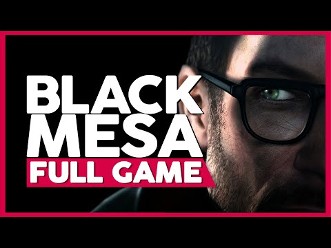 Black Mesa (PC 1440p 60FPS) | Full Gameplay/Playthrough | No Commentary