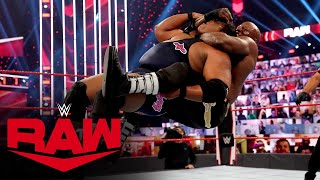 Keith Lee vs. Bobby Lashley – Winner Advances to Triple Threat Match: Raw, Nov. 23, 2020