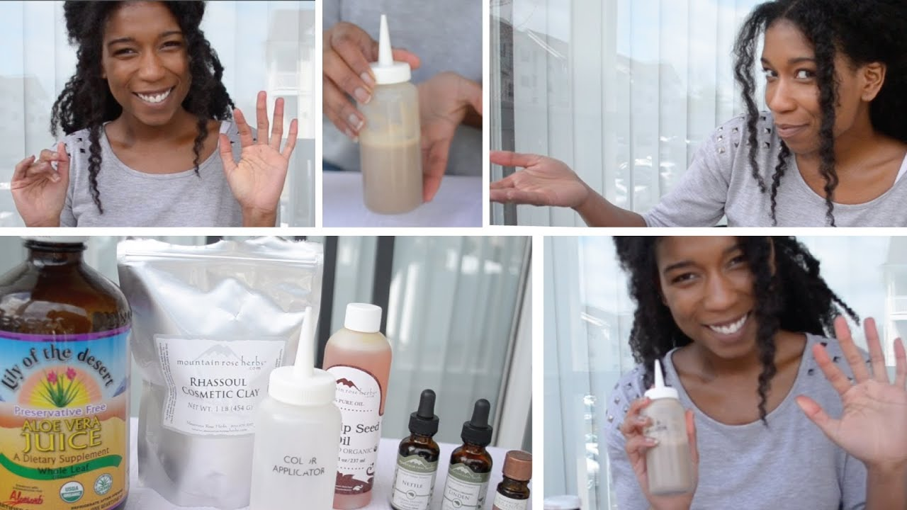 How To Make Your Own Shampoo For Natural Hair