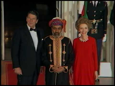 State Dinner for Sultan Qaboos of Oman on April 12, 1983