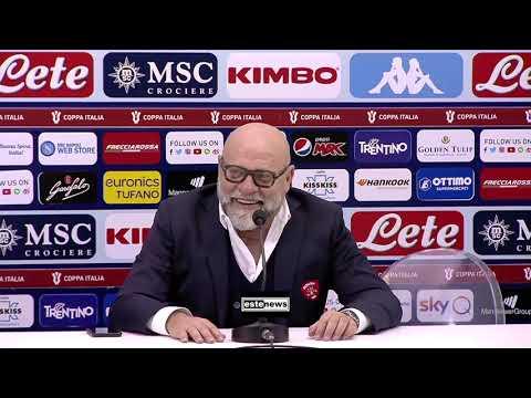 """Napoli-Perugia 2-0, Cosmi: """"Il Var In Imbarazzo Con Noi, Ma Con Il Napoli No"""""""