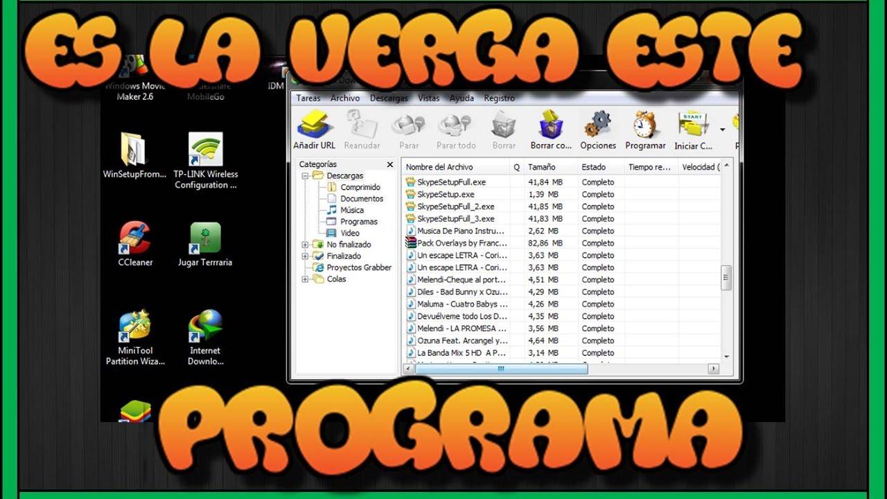 Acelera la Velocidad de DESCARGA IDM (internet download manager) 1 ...