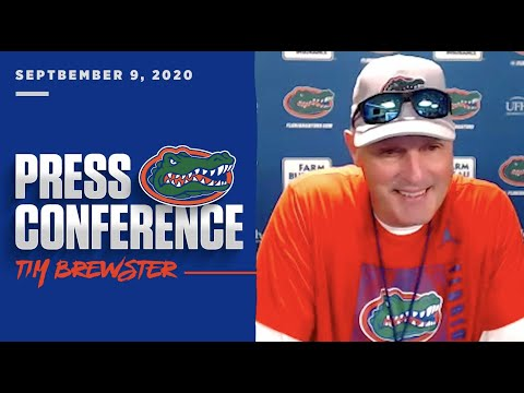 Florida Football: Tim Brewster Press Conference 9-9-20