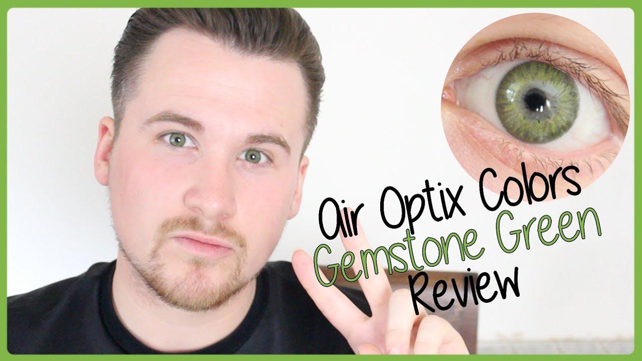 Air Optix Colors Contact Lenses Gemstone Green Review