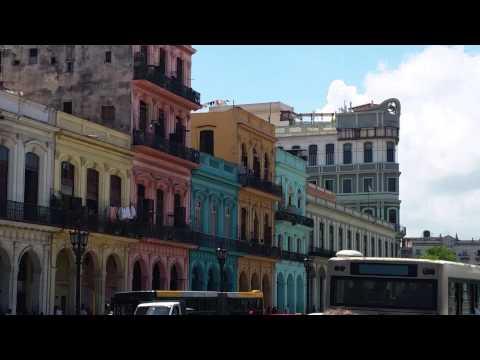 The area around the Capitol, Havana, Cuba