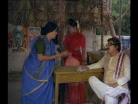 Comedy Scene at - Surya Kantham Hotel - Kaikala as Rao Gopala Rao's Son