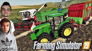 "Farming Simulator 19 ""Moja Amerykańska Gospodarka""#8㋡ Tanas do pomocy na Farmie! ✔ MafiaSolecTeam"