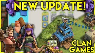 NEW DECEMBER UPDATE! | FREE Gems & Resources | Clan Games | New Hero Levels - Clash Of Clans