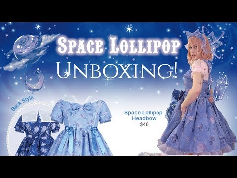 ☆ Lolita Unboxing and Try-on: Angelic Pretty Space Lollipop! ☆