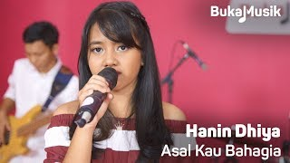 Hanin Dhiya - Asal Kau Bahagia  Armada Cover Full Band With Lyrics  | Bukamusik