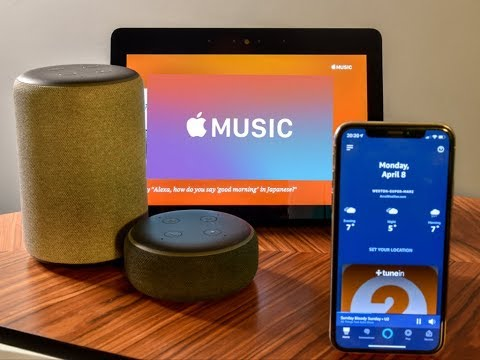Can i use apple music with amazon echo dot
