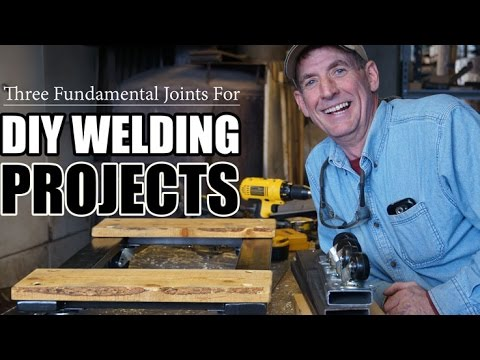 Three fundamental joints for diy welding projects youtube solutioingenieria Image collections