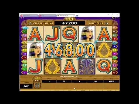 Mega Moolah Isis Free Spins Bonus Round - Mega Big Win