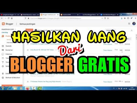 Jadi di video ini saya berbagi tutorial membuat blog gratis untuk pemula, dan mudah-mudahan saja bis.