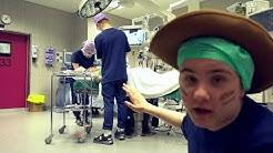 Seikkailu leikkausyksikössä