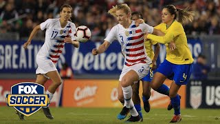 Aly Wagner: 'USWNT responds in a resounding way' | 2019 SheBelieves Cup | FOX SOCCER