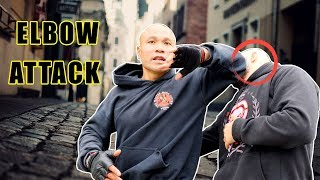 5 Self Defense Techniques used elbow attack | Wing Chun